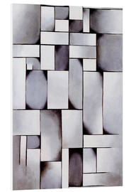PVC print  Composition in Gray (Rag-time) - Theo van Doesburg