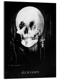 Acrylglas print  All is Vanity - Charles Allan Gilbert