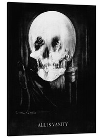 Aluminium print  All is Vanity - Charles Allan Gilbert