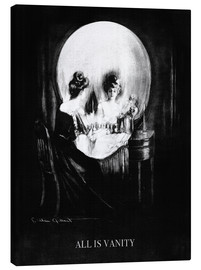 Canvas print  All is Vanity - Charles Allan Gilbert