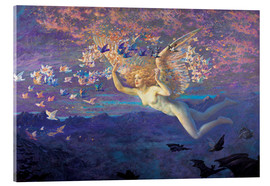 Acrylglas print  Wings of the Morning - Edward Robert Hughes