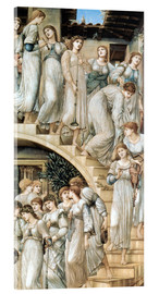 Acrylglas print  The Golden Stairs - Edward Burne-Jones