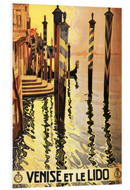 PVC print  Venise et le Lido - Travel Collection