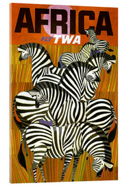 Acrylglas print  Africa Fly TWA - Travel Collection