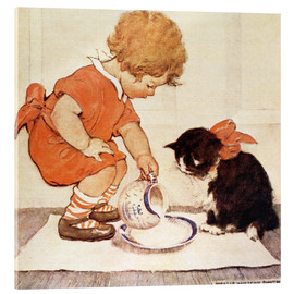 Acrylglas print  A Little Childs Book of Stories 2 - Jessie Willcox Smith