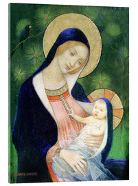 Acrylglas print  Madonna and Child - Marianne Stokes