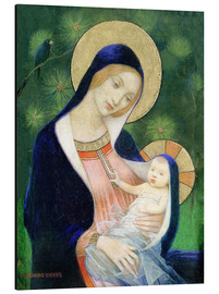 Aluminium print  Madonna and Child - Marianne Stokes