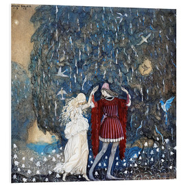 PVC print  Lena dances with the knight - John Bauer
