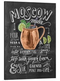 Aluminium print  Moscow Mule - Lily & Val
