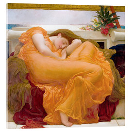 Acrylglas print  Flaming June - Frederic Leighton