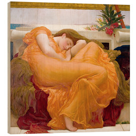 Hout print  Flaming June - Frederic Leighton
