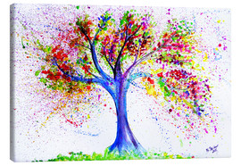 Canvas print  Tree of life and energy - M. Bleichner