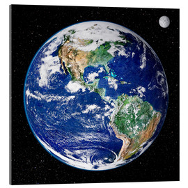 Acrylglas print  Earth from space - NASA