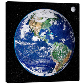 Canvas print  Earth from space - Nasa
