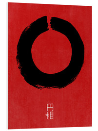 PVC print  Enso in Japan - THE USUAL DESIGNERS