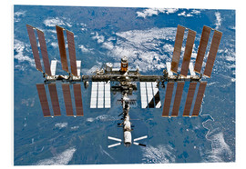 PVC print  International space station - NASA