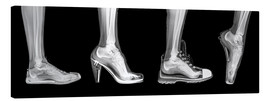 Canvas print  Various shoes (radiograph) - PhotoStock-Israel