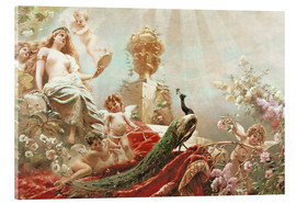 Acrylglas print  The Toilet of Venus - Konstantin Jegorowitsch Makowski