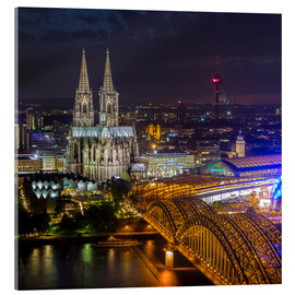 Acrylglas print  Cologne Cathedral - rclassen