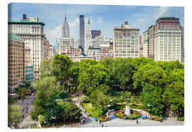 Canvas print  Summer in New York City, Union Square - Sascha Kilmer