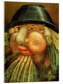 Acrylglas print  The Vegetable Gardener - Giuseppe Arcimboldo
