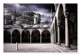 Premium poster  Lady and the mosque - Daniel Murphy