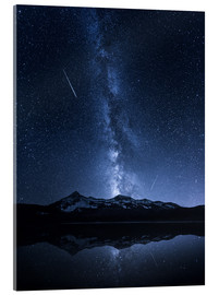 Acrylglas print  Galaxies Reflection - Toby Harriman