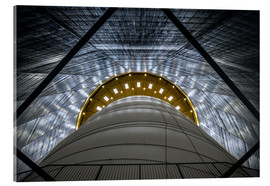 Acrylglas print  Gasometer - Big Air Package - Ercan Sahin