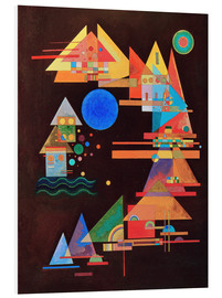 PVC print  Peaks in the bow - Wassily Kandinsky