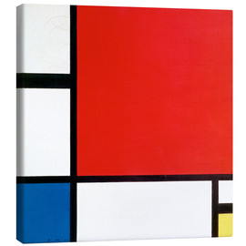 Canvas print  Composition with Red, Yellow and Blue - Piet Mondriaan