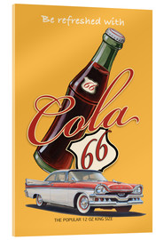 Acrylglas print  Cola 66 Advertising - Georg Huber