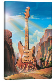 Canvas print  Guitar Rock - Georg Huber