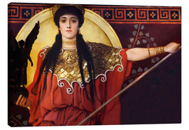 Canvas print  Ancient Greece (Athena) - Gustav Klimt