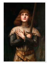 Premium poster  Joan of Arc - Paul Antoine de la Boulaye