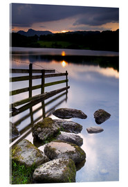 Acrylglas print  Loughrigg Tarn in England - Jeremy Lightfoot