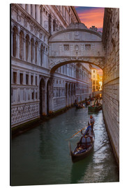Aluminium print  Bridge of Sighs in Venice - Angelo Cavalli