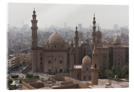 Acrylglas print  Mosque of Sultan Hassan in Cairo old town, Cairo, Egypt, North Africa, Africa - Martin Child