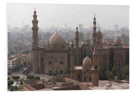 PVC print  Mosque of Sultan Hassan in Cairo old town, Cairo, Egypt, North Africa, Africa - Martin Child