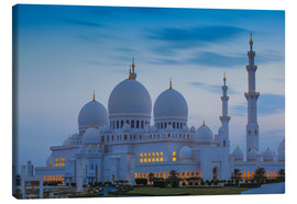 Canvas print  Sheikh Zayed Grand Mosque - Jane Sweeney
