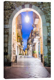 Canvas print  Porta Catania, Taormina - Matthew Williams-Ellis
