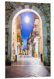 PVC print  Porta Catania, Taormina - Matthew Williams-Ellis
