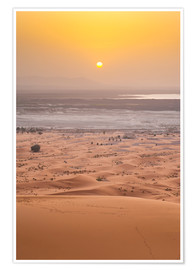 Premium poster  Erg Chebbi Sahara Desert - Matthew Williams-Ellis