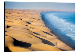 Aluminium print  Namib Desert on the Atlantic - Roberto Sysa Moiola