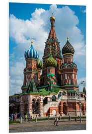PVC print  St. Basil's Cathedral, Moscow - Michael Runkel