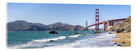 Acrylglas print  San Francisco Panorama - Jan Christopher Becke