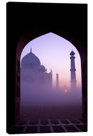 Canvas print  Taj Mahal at sunrise - Peter Barritt