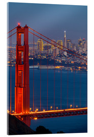 Acrylglas print  Golden Gate Bridge - Miles Ertman