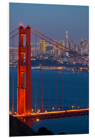 PVC print  Golden Gate Bridge - Miles Ertman