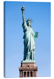 Canvas print  Statue of Liberty in New York USA - Jan Christopher Becke