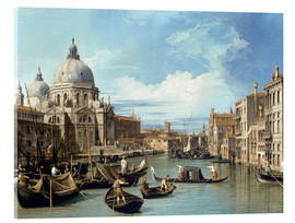 Acrylglas print  The Entrance to the Grand Canal, Venice - Bernardo Bellotto (Canaletto)